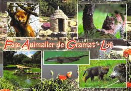 46 - Gramat - Parc Animalier - Multivues - Gramat