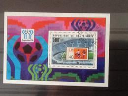 Haute Volta Bloc Argentina '78. Oblitéré. - Upper Volta (1958-1984)