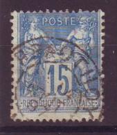 Prauthois Haute-Marne (52) Oblitération Type A1 Sur Sage - 1877-1920: Semi-Moderne