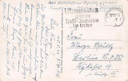 GENERALGOUVERNEMENT - ANSICHTSKARTE FREISTEMPEL LITZMANNSTADT 1943 /AA33* - Occupation 1938-45