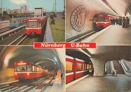 D-90403 Nürnberg - U-Bahn - Metro - Am Bhf. Scharfreiterring - Im Tunnel - Nuernberg