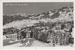 N°5689 R -cpsm Villars Et Les Alpes De Savoie- - VD Vaud