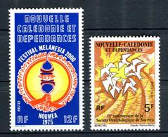 Nouvelle Calédonie - Yvert 394 & 395 ** - Cote 3,20 - NC 50 - Nuovi