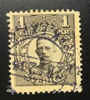 Sverige/Sweden 1 Krone 1911 King Olav V - Oblitérés