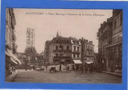 16 CHARENTE - ANGOULEME Place Marengo, Chantiers De La Caisse D'Epargne, Glacée (voir Descriptif) - Angouleme