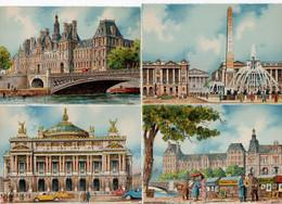 LOT 14 CP - Illustrateur BARDAY - PARIS - édit. M. Barré Et J. Dayez - Barday