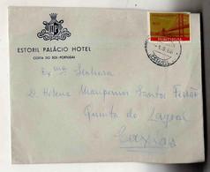 Cx15 19) Portugal 1966 1$00 Ponte Salazar EStoril Palácio Hotel > Esposa Do Governador De Moçambique Caxias - Unclassified