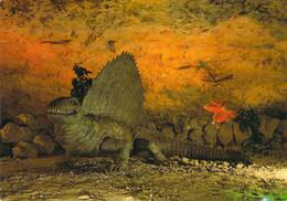 37 - Savonnières - Grottes Pétrifiantes Et Sa Faune Préhistorique - Dimetrodon - France
