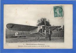 18 CHER - MENETREOL SOUS SANCERRE Monoplan Blériot Gardé Pendant La Nuit Du 21 Mai 1911 (voir Descriptif) - Frankreich