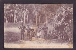 CPA Nouvelle Calédonie Types New Calédonia Non Circulé Canaques - New Caledonia