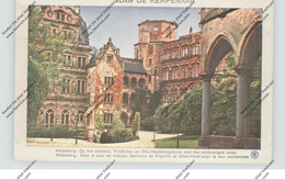 6900 HEIDELBERG, Schlosshof, MIETHE-AK, Rothophot,  Elixier De Kemepnaaar - Heidelberg