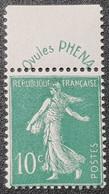 N° 188 Neuf ** Gomme D'Origine  TTB - Francia