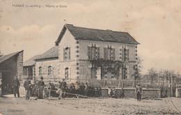 CARTE POSTALE   MARAY 41  Mairie Et école - Sonstige Gemeinden