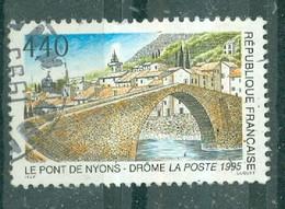 FRANCE - N° 2956 Oblitéré -Série Touristique. Le Pont De Nyons (Drôme). - Gebruikt