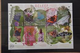 D(A) 262 ++ NETHERLANDS NEDERLAND MNH ** 2019 BELEEF DE NATUUR BUTTERFLIES VLINDERS - Nuevos