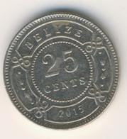 BELIZE 2015: 25 Cents, KM 36 - Belize