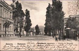 ! 1903 Ansichtskarte Aus Batumi, Batoum, Avenue De Marynski, Georgien - Georgia