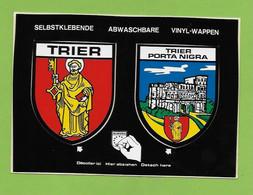 BURG DITM . TRIER  Blason Autocollant. - Trier