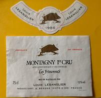16050 - Montagny 1er Cru Les Frissonnes 1986 Louis Lesanglier - Bourgogne