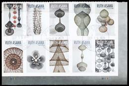 Etats-Unis / United States (Scott No.5513a - Ruth Asawa) (o) VF / TB Used Bloc - Verenigde Staten