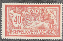 France - Yvert N°119 Neuf * - 1900-27 Merson