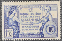 France - Yvert N°357 Neuf * - Zonder Classificatie