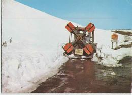 CPM 12 AUBRAC ... Dégagement Des Routes De Laguiole Et Nasbinals (Combier Ci 1) Chasse-neige - France