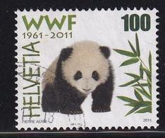 Switserland 2011, WWF, Panda, Minr 2189 Vfu. - Used Stamps