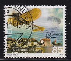 Switserland 2010, Airplane, Minr 2140 Vfu. - Oblitérés