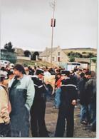 CPM 15 SAINT URCIZE ... Foire Du 7 Août 1994 (Livenais) Vaches, Gendarmes, Maquignons - Other Municipalities