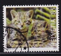 Switserland 2009, Wild Cat, Minr 2102 Vfu. - Used Stamps