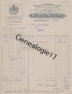 01 1487 PONT DE VAUX AIN 1926 Distillerie Bressane HENRI MARTIN Succ PERRET Prunelle Bressane LA DOREE CANDI A MICHAUD - 1900 – 1949