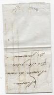 Cachet D'arrivée AVRIL Sur Lettre De 29/ROQUEMAURE Du 30/03/1818 Pour ST GENIES De Provence - 1801-1848: Precursori XIX