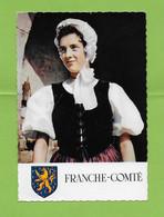 CPM  .COIFFE ET COSTUME DE FRANCHE COTE .Paysanne Région De Luxeuil. Doubs - Costumes