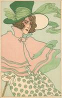 M.M VIENNE N° 120 ART NOUVEAU FEMME Precurseur 1900 - Vienne