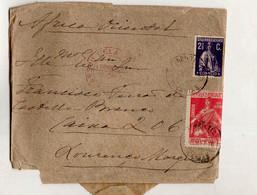 Cx15 29) Portugal Ceres 2,5ctv Para Os Pobres 1ctv CENSURA LOURENLO MARQUES 1916 > Governador De Moçambique - 1910 - ... Repubblica