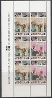 """NIEDERLANDE  Block 27, Postfrisch **, """"Voor Het Kind"""": Kind Und Comic 1984 - Bloks"""