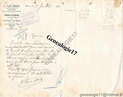 19 0320 BRIVE LA GAILLARDE CORREZE 1910 Chirurgien Dentiste L. VAN HOECK Maladies De La Bouche Avenue De La Gare - 1900 – 1949