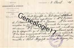 30 0833 SAINT HIPPOLYTE DU FORT GARD 1924 INSTITUT DES SOURDS MUETS AVEUGLES - 1900 – 1949
