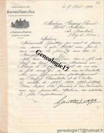 21 0786 ALOXE Pres BEAUNE COTE D OR 1910 Chateau De Corton Mr GAUTHEY CADET Et  FILS à Me PASSAVY PANET Crus Chambe - 1900 – 1949