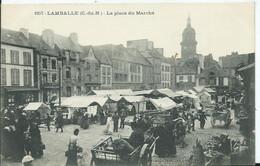 LAMBALLE - La Place Du Marché - Lamballe