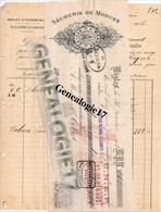 33 0131 BEGLES GIRONDE Secherie De Morues A. MARRET Quai De La Moulinatte 1916 Dest Me CABROL à PEZENAS - Sin Clasificación
