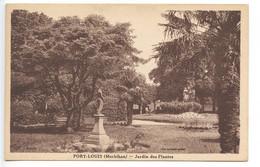 Port Louis, Jardin Des Plantes, France, Postcard, CPA, Unused - Ohne Zuordnung
