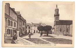 Port Louis, La Place Saint Pierre, France, Postcard, CPA, Unused - Ohne Zuordnung