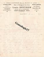 36 0037 LUCAY LE MALE  INDRE  Depot D Engrais LOUIS GONTHIER Hotel De La Promenade Elevateur D Eau JONET 1907 - Agriculture
