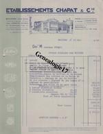 34 2067 BEZIERS HERAULT 1945 Et PARIS PERPIGNAN Maison Garage SIMCA Ets CHAPAT Cie Avenue President Wilson A PESQUI - 1800 – 1899
