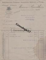 37 1153 TOURS INDRE ET LOIRE 1927 Corderie Ficellerie Peche BARTHES Place Gaston Paillhou à DALAINE De PORT DE PILE - 1900 – 1949
