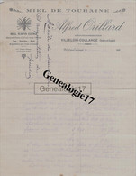 37 1607 VILLELOIN COULANGE INDRE ET LOIRE 193. Apiculture ALFRED ORILLARD Apiculteur Miel De Touraine ( Abeilles Abeille - 1900 – 1949