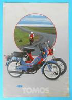 TOMOS KOPER - MOPEDS ... Slovenia Ex Yugoslavia Original Vintage Sales Brochure * Prospectus Broschure Moped Motorcycle - Motorfietsen