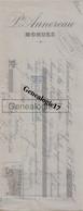 33 3402 BORDEAUX GIRONDE 1909 Morues P. ANNEREAU Rue De La Rousselle ( Morue ) A MILOU - Letras De Cambio